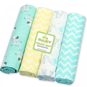 4 flannel blankets 102*76cm 4 pack cozy