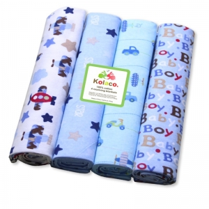 Custom Newborn Toddler 100% Cotton Minky Soft Breathable Bubble Flannel Fleece Swaddling Bedding Bab(图1)