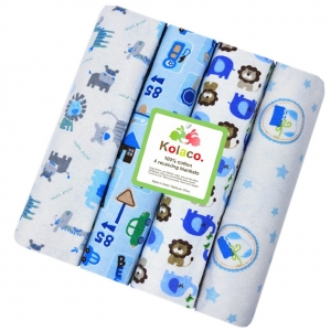 100%cotton flannel swaddling receiving